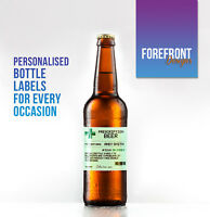 Personalised Prescription Beer/Lager Spoof Funny bottle labels - Perfect Gift!!