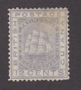 British Guiana 1876-79 Mint MH Definitive Queen Victoria Sailing Ships SG131
