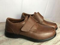 Anodyne Men's Shoes Size 10.5W Diabetic Orthopedic Brown Casual Oxford #28