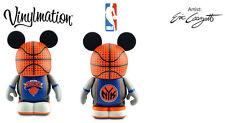 "DISNEY VINYLMATION 3"" NBA BASKETBALL NEW YORK KNICKS COLLECTIBLE TOY FIGURE NIB"