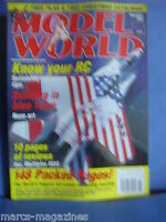 RCMW RC MODEL WORLD NOVEMBER 2000 MORANE SAULNIER TYPE H PLANS MANI RIEDRICH