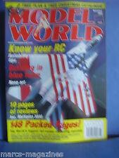 RCMW RC MODEL WORLD NOVEMBER 2000 MORANE SAULNIER TYPE H PLANS MANI RIEDRICH