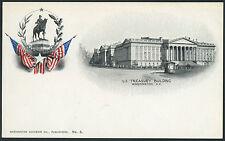 PMC - Washington Souvenir Co. No. 6 U S Treasury Building  DC   P762s