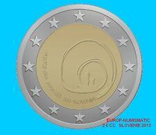 """SLOVENIE 2013 2 EURO COMMEMORATIVE """"GROTTE DE POSTOJNA""""  SUPERBE    PREVENTE"""
