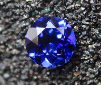 UNHEATED AAAAA+ 12MM ROUND SHAPE BLUE TANZANITE TOP QUALITY LOOSE GEMSTONES