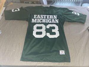 New Adult Medium VINTAGE Eastern Michigan Eagles Football Jersey Champion 70 80s