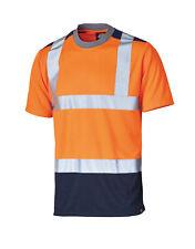 Dickies Warnschutz Tshirt Sicherheit Tee T-Shirt Safety Neon Kurzam Signal Warn