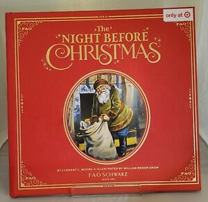 FAO Schwarz: The Night Before Christmas Target Exclusive Leather Bound