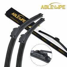 """ABLEWIPE 20""""&20"""" Fit For Nissan Cube 2014-2009 Quality Windshield Wiper Blades"""