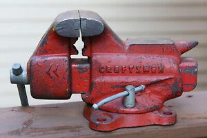 "Vintage Craftsman 3.5"" Jaw Bench Vise  506-51800"