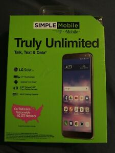 Simple Mobile - Truly Unlimited - *LG Solo* (16 GB) - Gray - New