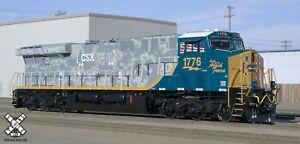 Scaletrains Rivet SXT32397 ES44AH GEVO CSX/Armed Forces #1776 DCC & Sound