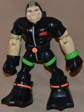 "6"" Gil Gripper Wave Rescue Specialist Heroes Action Figures Toys 2000 Mattel"