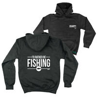 FB Fishing Hoodie - Rather Be Fishing - Novelty Birthday Christmas Hoody Jumper
