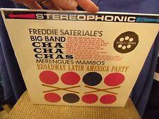 Freddie Sateriale Cha Cha Cha Mambos Latin America Big Band LP SpinoRama Sealed