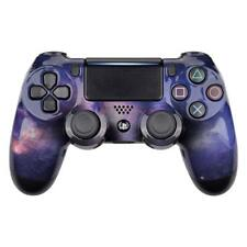 PS4 Controller Cover Case Hülle Gehäuse Schale Front Purple Galaxy Slim Pro V2
