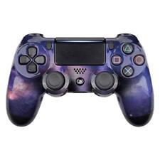 PS4 Controller Cover Case Hülle Gehäuse Schale Front Purple Galaxy Slim Pro V2