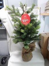 "Hallmark 24"" 2' Tabletop Christmas Tree Evergreen LPR2402"