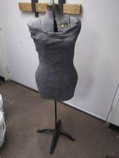 Vintage Acme Adjustable Dress Form Mannequin Cast Iron Stand Size A