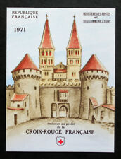 Sello FRANCIA / FRENCH stamp - Yvert Tellier Carnet Cruz Rojo nº2020 (Cyn25) I