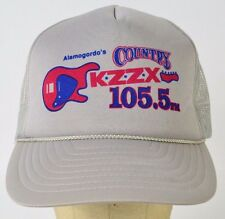 Alamogordo's Country KZZX 105.5 FM Radio Station Mesh Trucker Hat Cap Adjustable