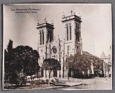 VINTAGE PHOTOGRAPH SAN ANTONIO TEXAS HISTORIC SAN FERNANDO CATHEDRAL OLD PHOTO