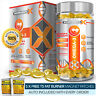 OMEGA 3 FISH OIL SOFTGELS - STRONGEST POSSIBLE PHARMA GRADE 1000MG -35% DHA/EPA!