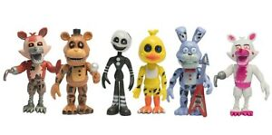 6 PCS Five Nights At Freddy's FNAF Action Figures Doll Toys Gift XMAS USA SHIP