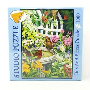 Bits & Pieces Jigsaw Puzzle 1000 Piece BACKYARD OASIS by Nancy Wernersbach