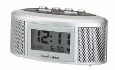 Super Loud Alarm Portable Clock Home Décor Lcd Displays Time & Alarm Time New