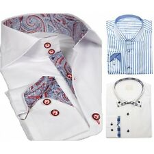 Button Cuff XL Singlepack Formal Shirts for Men
