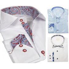Button Cuff XL Business-Regular Collar Formal Shirts for Men