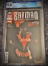 BATMAN BEYOND #37 (2nd PRINT) 1st APPEARANCE BATWOMAN BEYOND DC CGC 9.8