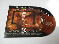 CD Série Spectaculars Classics - Bach (pochette cartonnée)