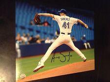 Aaron Sanchez autographed 8x10 Toronto blue jays