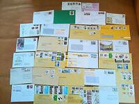 Sammler Lot Briefe Einschreiben Ersttag  BRD selten Sonderstempel Mischfrankatur