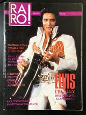 RARO! # 2 Magazine about discography ELVIS Colour PS Damned Sonics Rettore