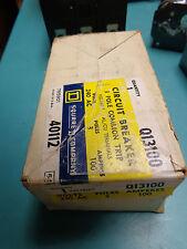 BRAND NEW IN BOX SQUARE D Q13100 PLUG-IN VISI-TRIP CIRCUIT BREAKER