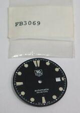 Genuine Tag Heuer Dial FB3069 Automatic 300 meters 29.5 Black Nos