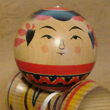 Traditional Kokeshi KENDAMA Cup and Ball Bilboquet 5.9inch JAPAN NEW