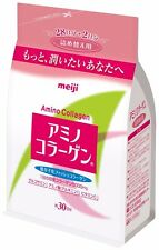 New Meiji Amino Collagen Beauty Powder Refill 214g 30 Days Free Postage