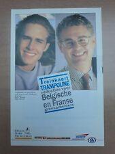 NMBS (SNCB) - Treinkaart Trampoline voor Belgische en Franse grensarbeiders