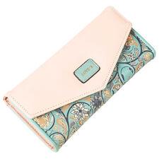 Fashion Leather Wallet Button Purse Ladies Long Women's Envelope Handbag Clutch