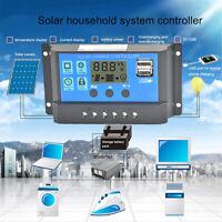 40A-100A MPPT Solar Panel Regulator Charge Controller 12V/24V Auto Focus