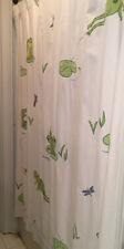 "Pottery Barn ""Dragonflies & Frogs� Shower Curtain"