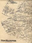 Wrightstown NJ 1876  Maps with Homeowners Names Shown