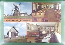CPA Germany Mecklenburg Windmill Moulin a Vent Windmühle Wiatrak Folklore w9