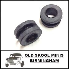 CLASSIC MINI TOP RADIATOR BRACKET GROMMETS x2 11G227 ROVER AUSTIN COOPER GT BF18