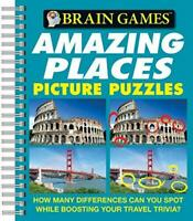 Brain Games - Picture Puzzles: Amazing Places - How Many Differences Can You