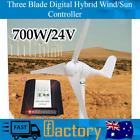 Generator Wind Turbine Three Blade Virtual Hybrid Wind/Solar Controller 700W 24V